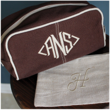 Personalized Dopp Kit & Zip Bags
