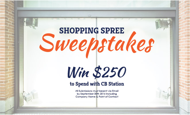 Win $250 To Spend With CB Station