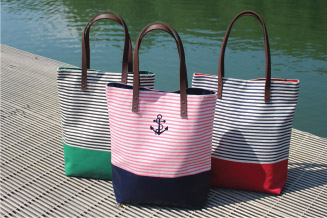 Seaport Stripes Tote