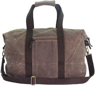 Waxed Canvas Voyager Weekender