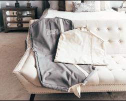 Garment Bag Natural & Natural