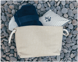 Jute Storage Bags With Rope Handle