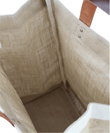 Jute Cotton Material and a Fabricated Bottom