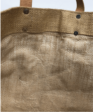 Hand Crafted of Beautifully Textured Natural Jute Cotton