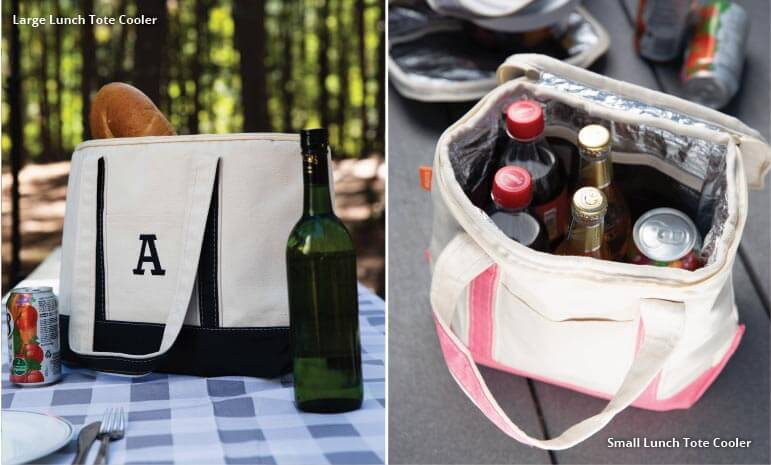 Tips & Tricks to Monogramming our Insulated Lunch Tote Coolers