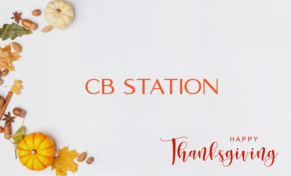 Celebrate Thanksgiving with CB Station